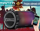 Manta SPK111 THUNDER - bezprzewodowy głośnik na karnawał