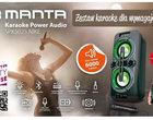 Manta SPK5025 NIKE - bezprzewodowy zestaw karaoke