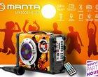 Manta SPK1001 Helios: przenośny zestaw karaoke z mikrofonem